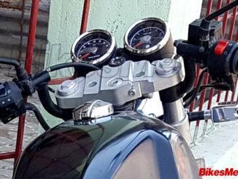 Royal Enfield Continental GT 750 spy bikeleaks 05