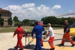 Accidente Max Biaggi traslado helicotpero (4)