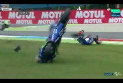 Caida Maverick Vinales MotoGP Assen 2017 06