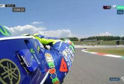 Caida Valentino Rossi Entrenamientos Mugello 20171