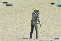 Caida Valentino Rossi Entrenamientos Mugello 201715