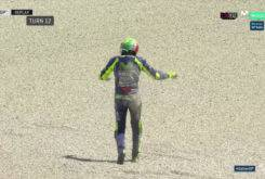Caida Valentino Rossi Entrenamientos Mugello 201716