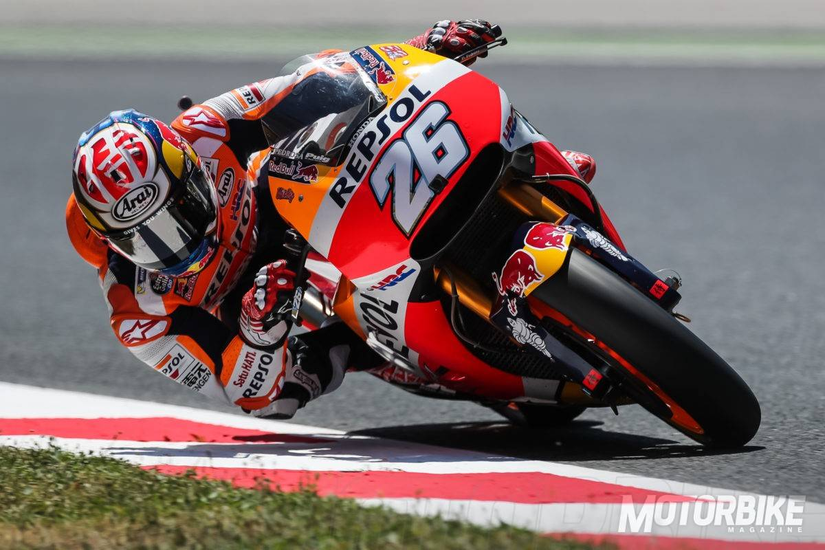 Dani Pedrosa pole MotoGP Montmelo 2017