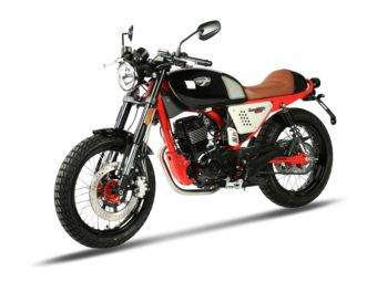 Hanway Raw 125 SR Sport Black Red 2017 10