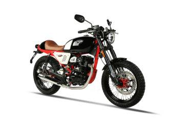 Hanway Raw 125 SR Sport Black Red 2017 18