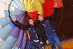 Marc Marquez Dani Pedrosa globo aerostatico 02
