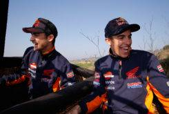 Marc Marquez Dani Pedrosa globo aerostatico 03