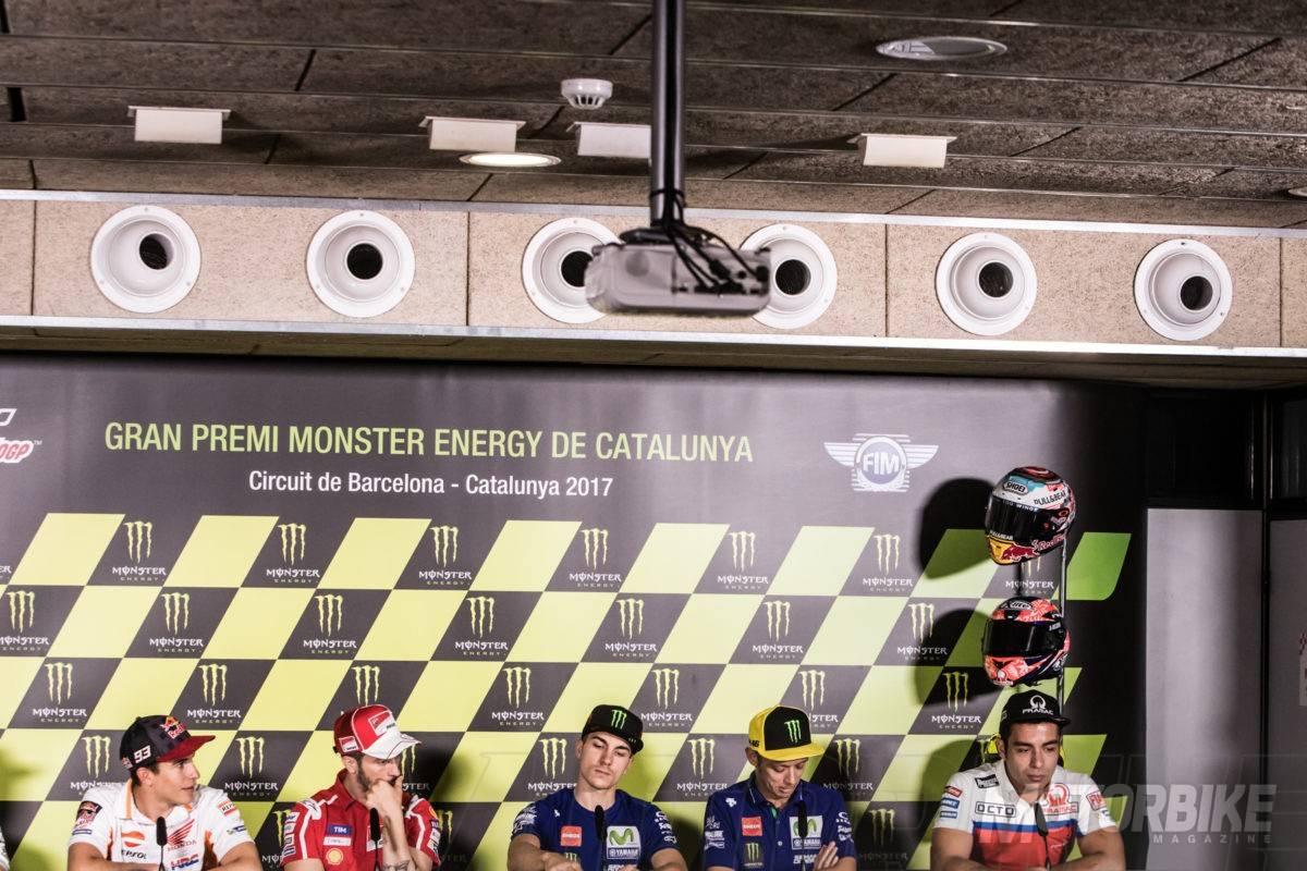 Rueda de prensa Montmelo MotoGP 2017