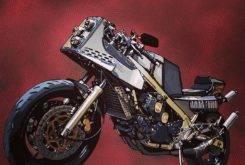 Yamaha RD500 RZV500R Red Hot 09
