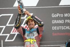 Franco Morbidelli triunfo Moto2 Sachsenring 2017