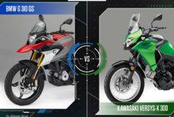 MBK31Face to faceBMW G 310 GS vs Kawasaki Versys X 300