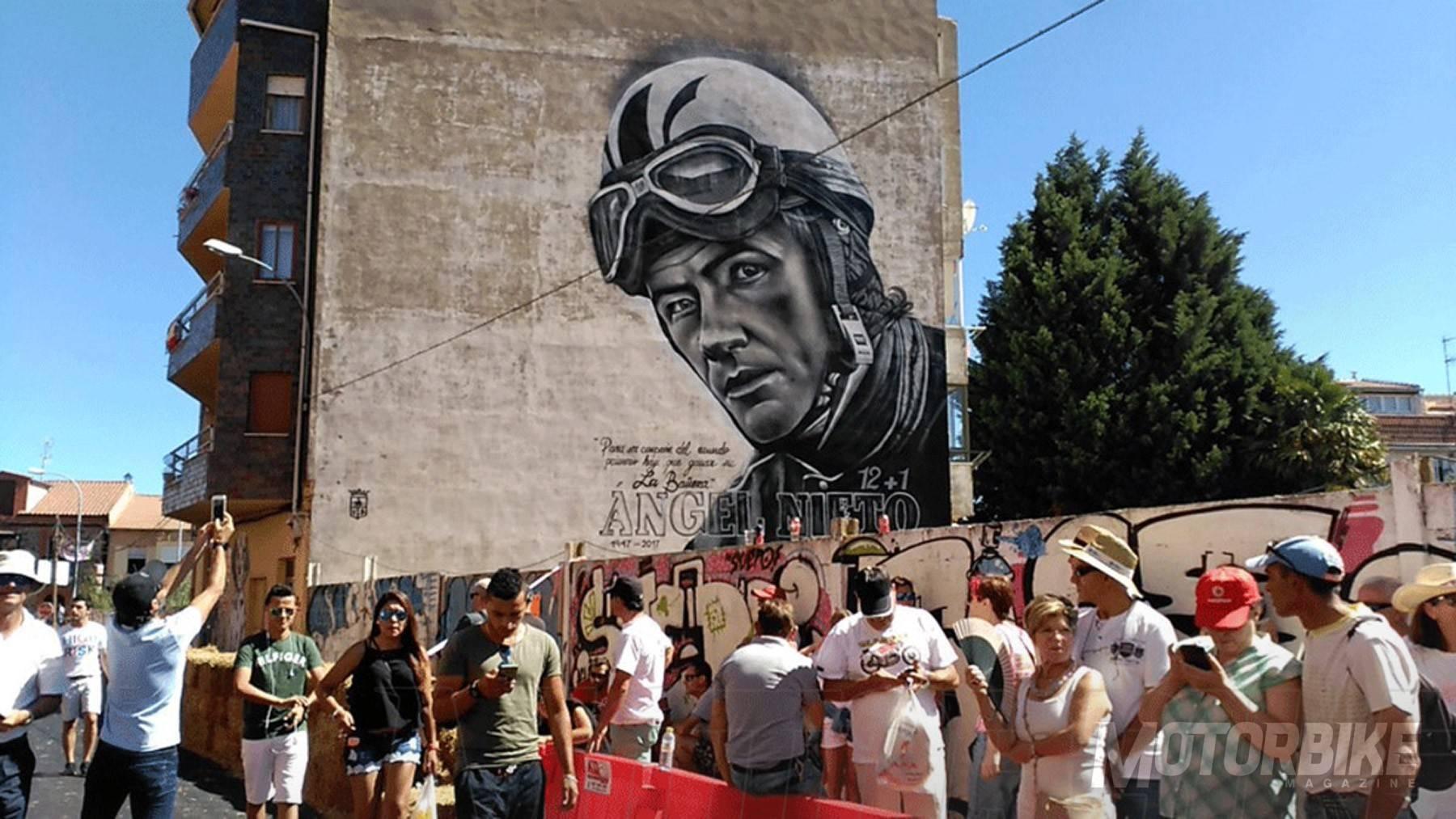 Circuito Urbano La Bañeza : Emotivo homenaje a Ángel nieto en la bañeza motorbike magazine
