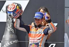 Dani Pedrosa MotoGP Austria 2017 podio
