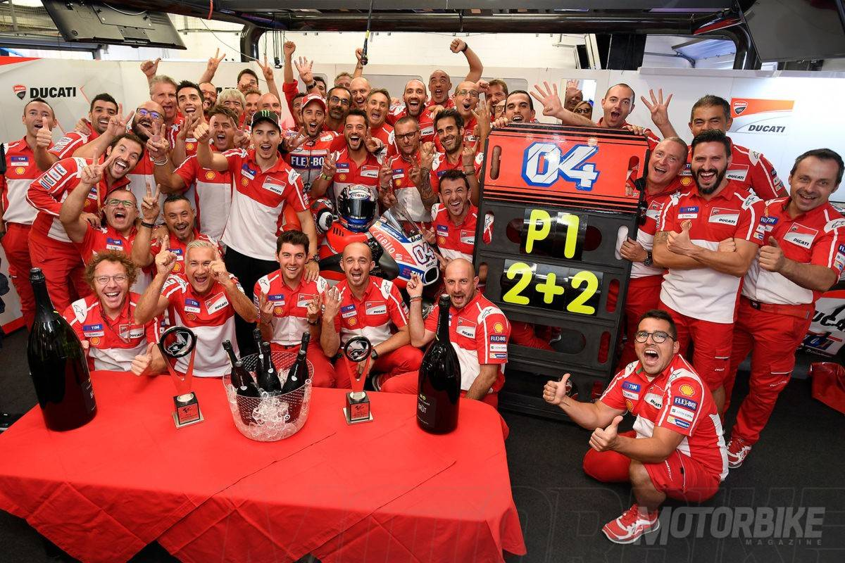 Ducati-victoria MotoGP Silverstone 2017