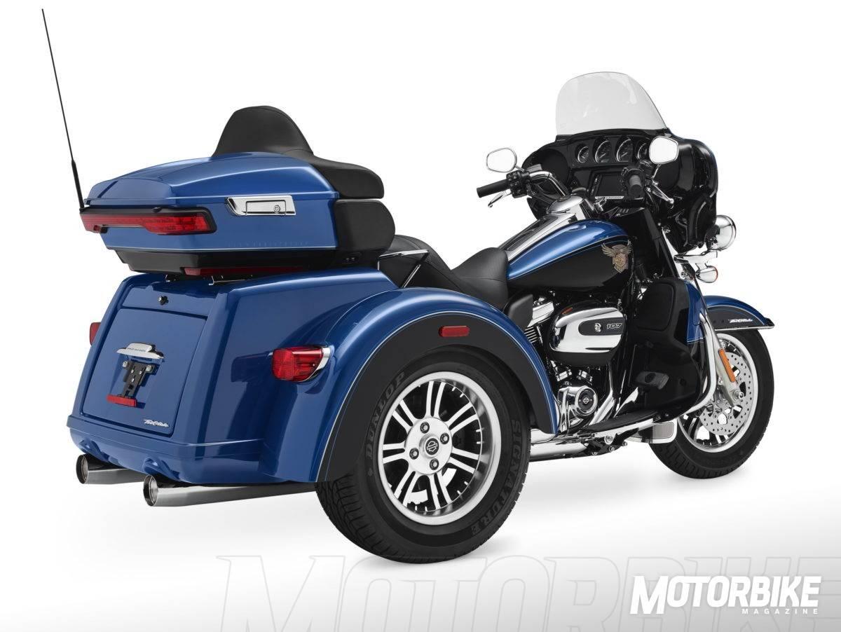 2018 Tri Glide Ultra Harley Davidson: Harley-Davidson Tri-Glide Ultra 115 Aniversario 2018