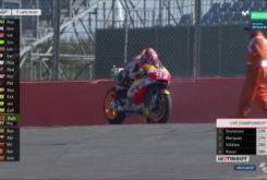 Marc Marquez Rompe Motor Silverstone 201710