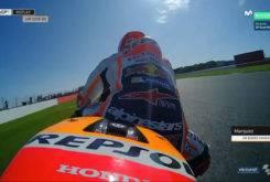 Marc Marquez Rompe Motor Silverstone 201716