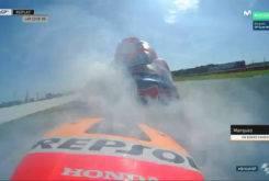 Marc Marquez Rompe Motor Silverstone 201717