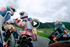 Romano Fenati Fabio Di Giannantonio Moto3 Austria 2017 01