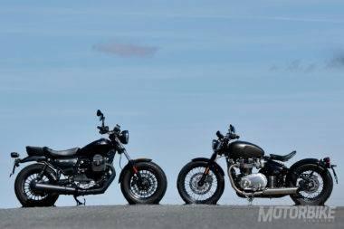 Triumph Bonneville Bobber vs Moto Guzzi V9 Bobber_31