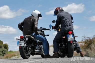 Triumph Bonneville Bobber vs Moto Guzzi V9 Bobber_32