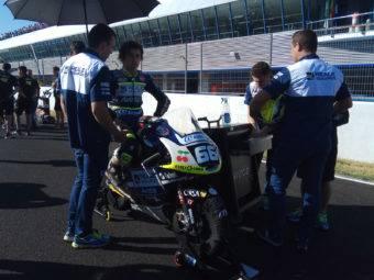 Andreas Perez parrilla Moto3