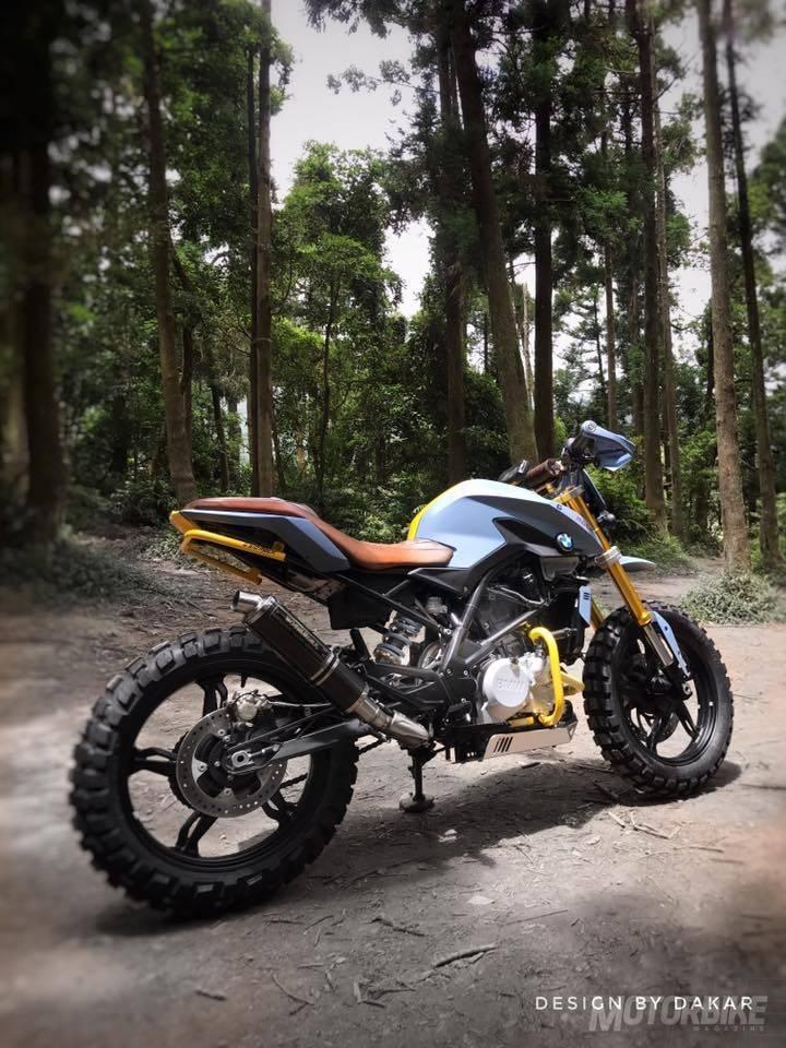 Bmw G 310 R Scrambler Por Dk Design Motorbike Magazine