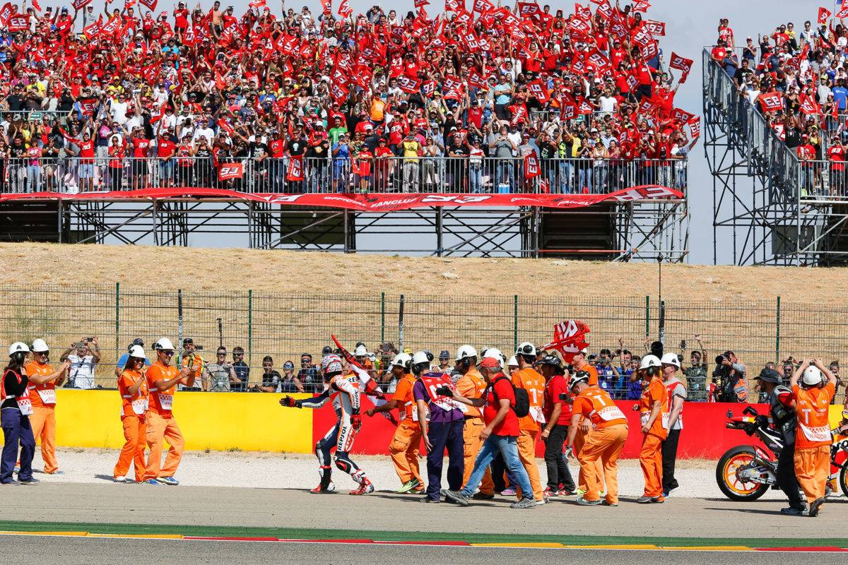 Club fan Marc Marquez_MotoGP Aragon 2017