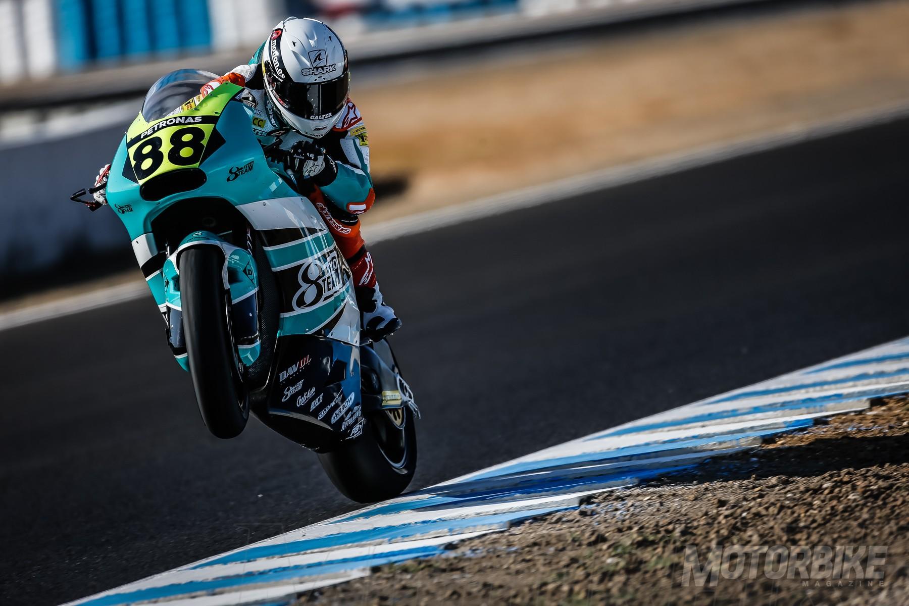 FIM CEV Moto2 Jerez pole Ricky Cardús