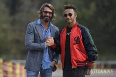 Giovanni Castiglioni & Lewis Hamilton