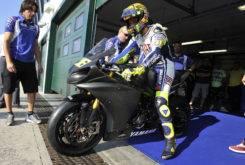 Valentino Rossi Test Misano Yamaha R6 02MBK
