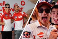 Ducati vs Marc Marquez GP Malasia MotoGP 2017