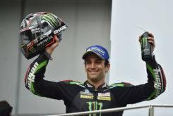 Johann Zarco podio MotoGP 2017