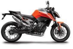 KTM 790 Duke 2018 Color naranja 2