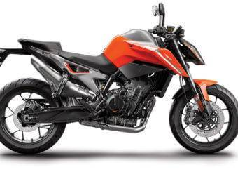 KTM 790 Duke 2018 Color naranja 2