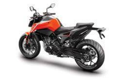 KTM 790 Duke 2018 Color naranja 4