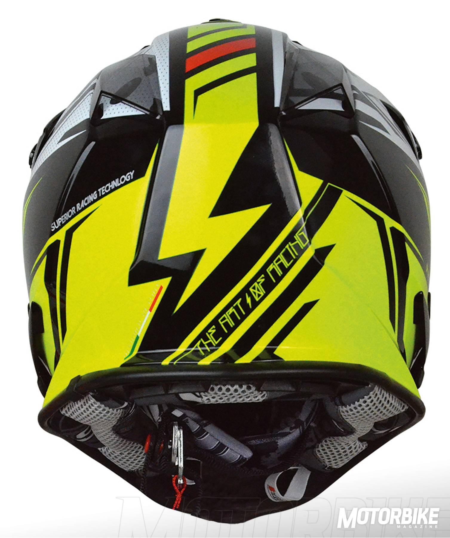 MBK - J32 PRO_RAVE neon yellow-black back