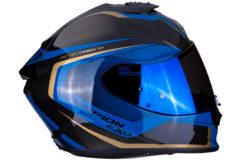 MBKScorpion exo 1400 air carbon esprit blue side