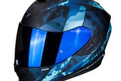 MBKSorpion exo 1400 air sylex matt black blue