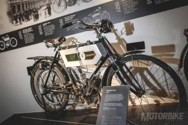 Triumph Nº1 restaurada de 1902
