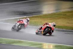 Marc Marquez Andrea Dovizioso Cafeina MotoGP 2017