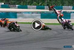 Tatsuki Suzuki GP Malasia Caida Moto3 2017