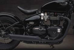 Triumph Bonneville Bobber Black 2018 37