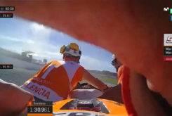 Caida Marc Marquez Q2 GP Valencia 2017 22