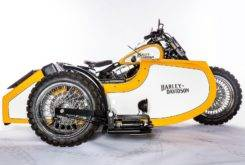 Harley Davidson Softail Fat Boy Special sidecar Hardcore Customs 01