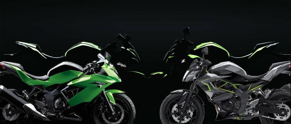 Las Kawasaki Ninja 125 2018 Y Z125 Anunciadas Para La Proxima Temporada