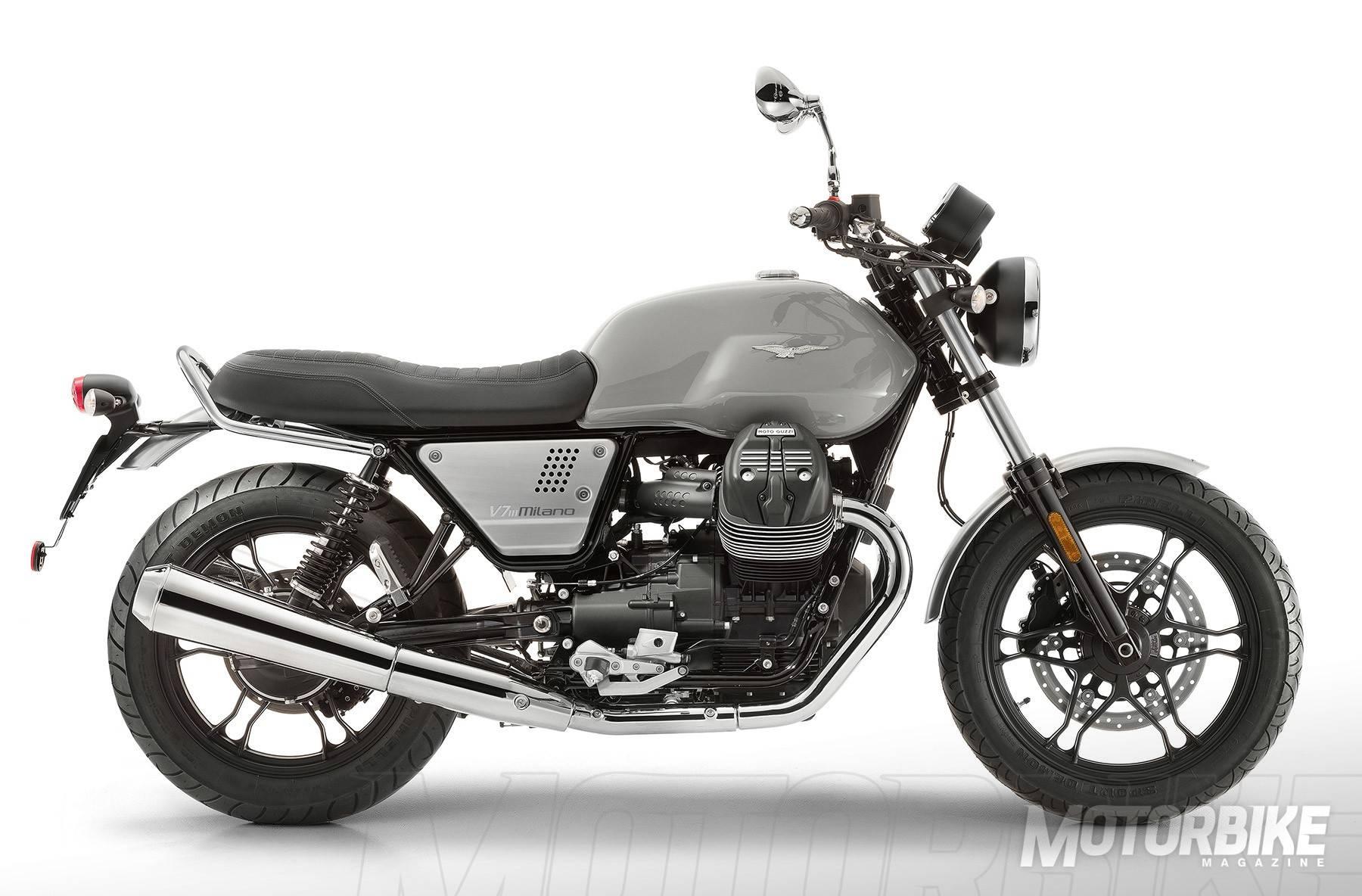 moto guzzi v7 iii milano 2018 precio fotos ficha t cnica y motos rivales. Black Bedroom Furniture Sets. Home Design Ideas