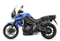 Triumph Tiger 800 XRX 2018 Color Azul 3