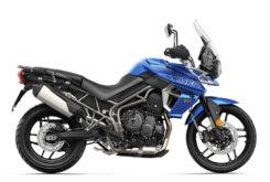 Triumph Tiger 800 XRX 2018 Color Azul 5