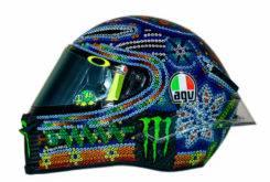 Valentino Rossi Casco AGV Pista GP R test 00